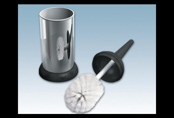 Brosse WC en acier inox