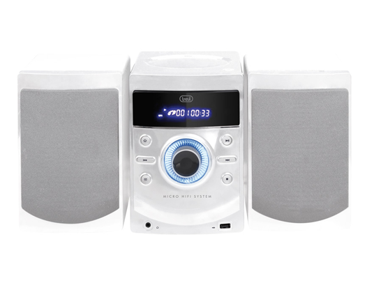 HCX 1050 S MINI CD HIFI RADIO USB PLL WHITE