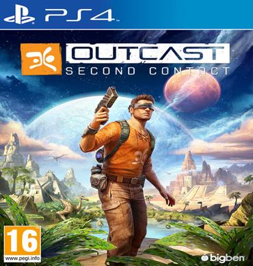 Outcast second contact jeux video