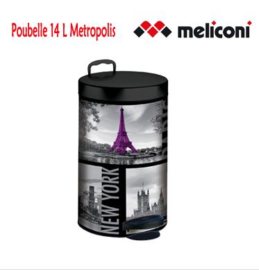Poubelle 14 L Metropolis